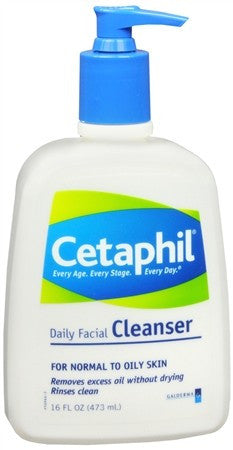 Cetaphil Daily Facial Cleanser Lotion - 16 oz
