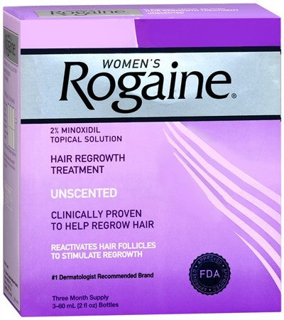Rogaine Women's Hair Regrowth Treatment Unscented - 6 oz