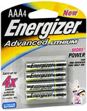 Energizer Advanced Lithium Batteries AAA4 - 4 ea