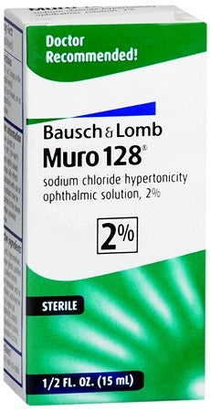 Bausch + Lomb Muro 128 Solution 2% - 15 ml