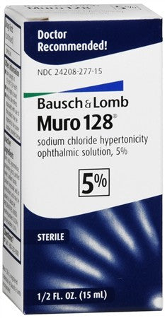 Bausch + Lomb Muro 128 Solution 5% - 15 ml