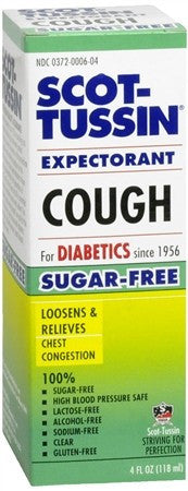 Scot-Tussin Expectorant Cough - 4 oz
