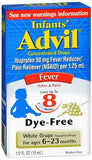 Advil Infants' Concentrated Drops Dye-Free White Grape Flavored - 0.5 oz