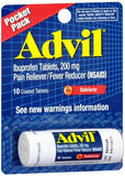 Advil Tablets Pocket Pack - 10 tabs