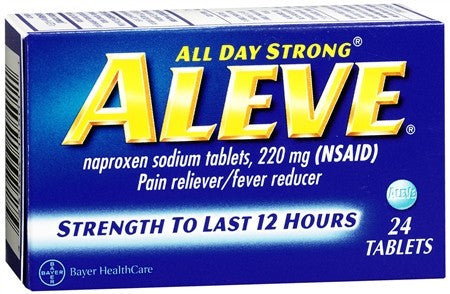 Aleve Pain Reliever Fever Reducer Tablets - 24 tabs