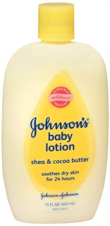 Johnson's Baby Lotion Shea & Cocoa Butter - 15 oz