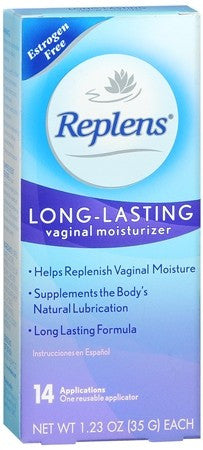 Replens Long-Lasting Vaginal Moisturizer - 35 gm