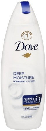 Dove Deep Moisture Body Wash - 12 oz