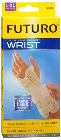 FUTURO Deluxe Wrist Stabilizer Left Hand Large-X-Large - 1 ea