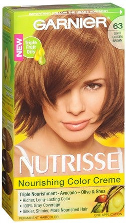 Garnier Nutrisse Haircolor - 63 Brown Sugar (Light Golden Brown) - 1 ea
