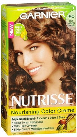 Garnier Nutrisse Nourishing Color Creme Permanent Haircolor Acorn (Light Natural Brown) - 1 ea