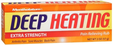 Mentholatum Deep Heating Pain Relieving Rub Extra Strength - 2 oz