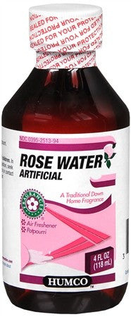 Humco Artificial Rose Water - 4 oz