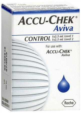 ACCU-CHEK Aviva Control Solution - 1 ea