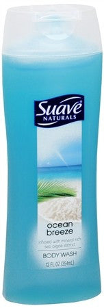 Suave Naturals Body Wash Ocean Breeze - 12 oz