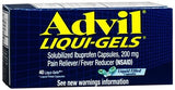 Advil Liqui-Gels - 40 caps