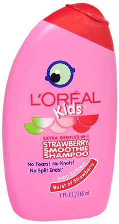 L'Oreal Kids 2-in-1 Shampoo Strawberry Smoothie - 9 oz