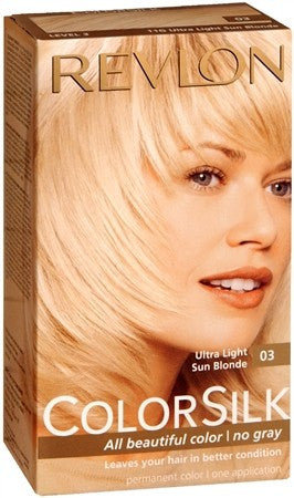 Revlon ColorSilk Hair Color 03 Ultra Light Sun Blonde - 1 ea