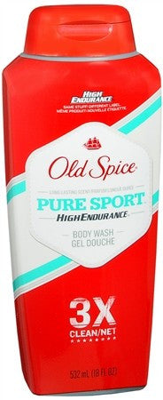 Old Spice High Endurance Body Wash Pure Sport - 18 oz
