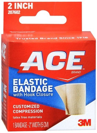ACE Elastic Bandage with Hook Closure 2 Inch - 1 ea