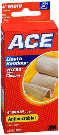 ACE Elastic Bandage with Hook Closure 4 Inch - 1 ea