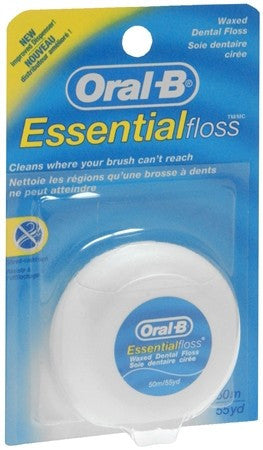 Oral-B EssentialFloss Waxed - 55 yrds