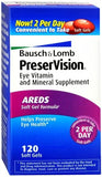 Bausch + Lomb PreserVision Soft Gels - 120 caps