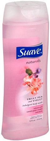 Suave Naturals Body Wash Sweet Pea & Violet - 12 oz