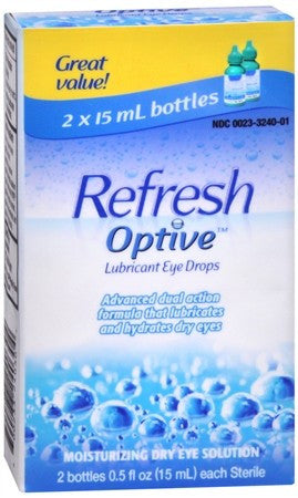 Refresh Optive Lubricant Eye Drops - 1 oz