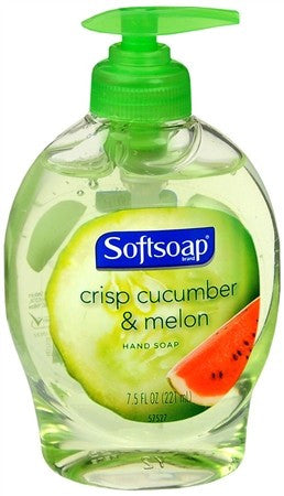 Softsoap Liquid Hand Soap Crisp Cucumber & Melon - 7.5 oz