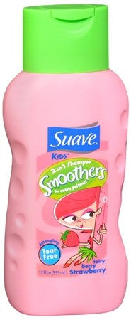 Suave Kids 2-in-1 Shampoo Smoothers Fairy Berry Strawberry - 12 oz