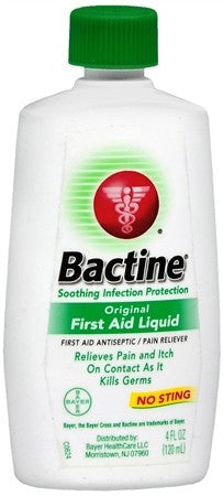 Bactine Original First Aid Liquid - 4 oz