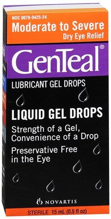 GenTeal Lubricant Gel Eye Drops Moderate to Severe - 15 ml
