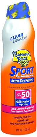 Banana Boat Sport Performance Ultra Mist Spray SPF 50 - 6 oz