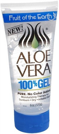 Fruit of the Earth Aloe Vera 100% Gel - 6 oz