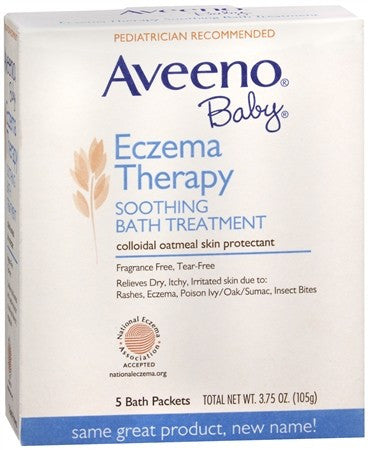 AVEENO Baby Eczema Therapy Soothing Bath Treatment - 5 ea