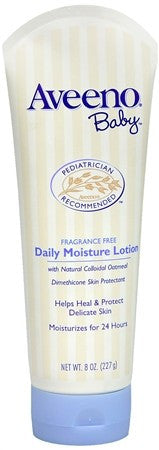 AVEENO Baby Fragrance Free Daily Moisture Lotion - 8 oz