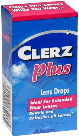 CLERZ PLUS Lens Drops - 5 ml
