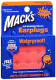 Mack's Soft Moldable Silicone Earplugs Kids Size - 6 pr