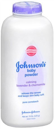 Johnson's Baby Powder Calming Lavender & Chamomile - 15 oz