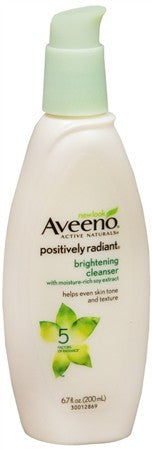 AVEENO Active Naturals Positively Radiant Brightening Cleanser - 6.7 oz