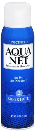 Aqua Net Professional Hair Spray Super Hold Unscented - 11 oz