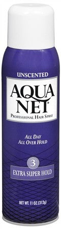 Aqua Net Professional Hair Spray Extra Super Hold Unscented - 11 oz