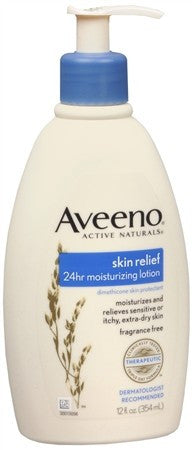 AVEENO Active Naturals Skin Relief 24hr Moisturizing Lotion - 12 oz