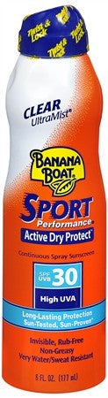 Banana Boat Sport Performance Continuous Spray Sunscreen SPF 30 - 6 oz