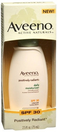 AVEENO Active Naturals Positively Radiant Daily Moisturizer SPF 30 - 2.5 oz
