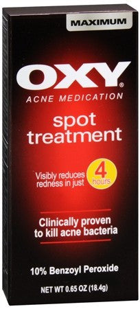 OXY Acne Medication Maximum Action Spot Treatment - 0.65 oz