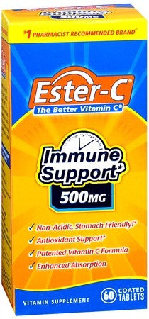 Ester-C 500 mg Coated Tablets - 60 tabs