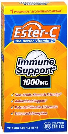 Ester-C 1000 mg Coated Tablets - 60 tabs