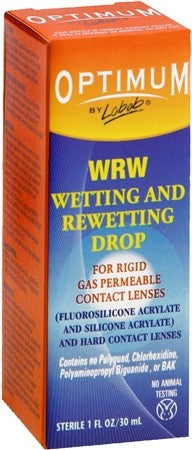 Optimum WRW Wetting and Rewetting Contact Lens Drops - 1 oz